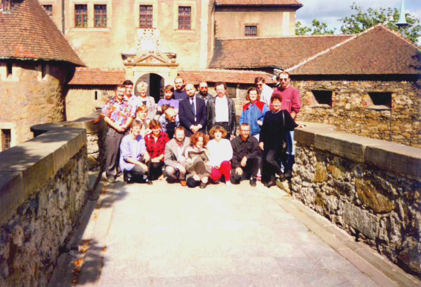 8-9 września 1994 roku na zamku Czocha koło Lubania Śląskiego fot. archiwum Pałuk