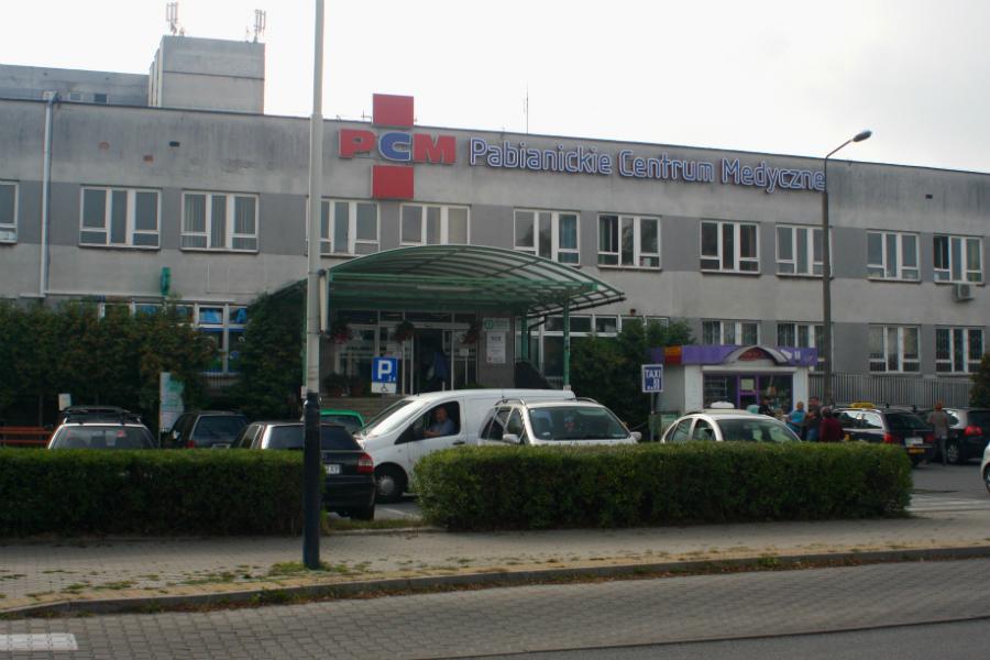 szpital w Pabianicach
